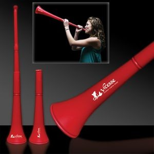 "28"" Red Collapsible Stadium Horn"