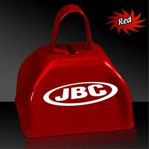 "3"" Red Metal Cowbell"