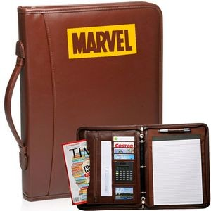 Brown Executive Ring Binder